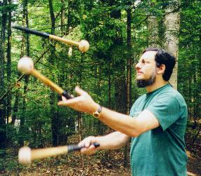 Juggling in the Adirondacks